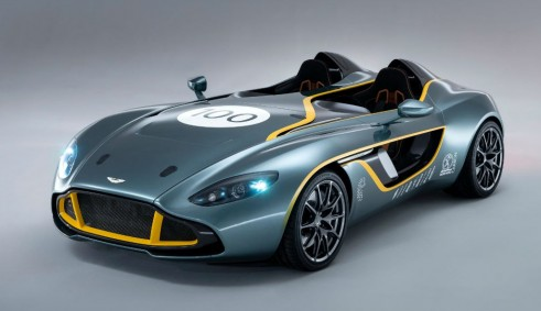 Aston Martin CC100 Spedster Concept Front Angle