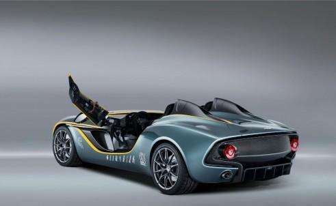 Aston Martin CC100 Spedster Concept Rear Angle