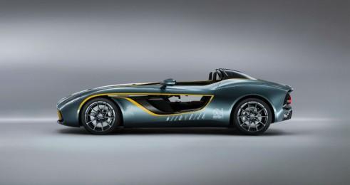 Aston Martin CC100 Spedster Concept Side