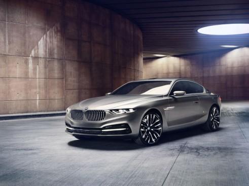 BMW Pininfarina Gran Lusso Coupé Front Angle