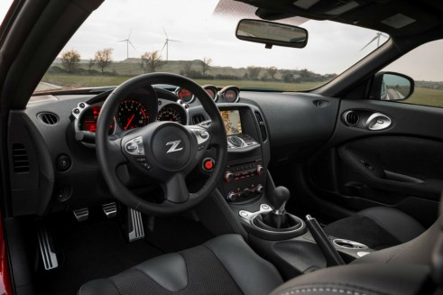 New Nissan 370z Interior