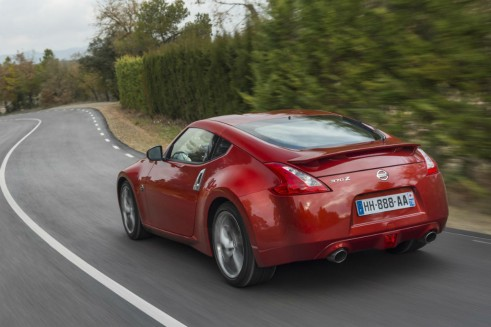 New Nissan 370z Rear