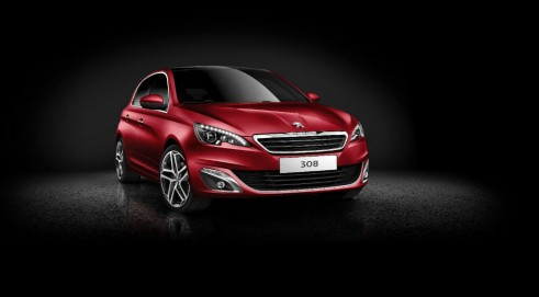 New Peugeot 208 Red Front