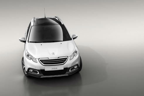 Peugeot 2008 White Front