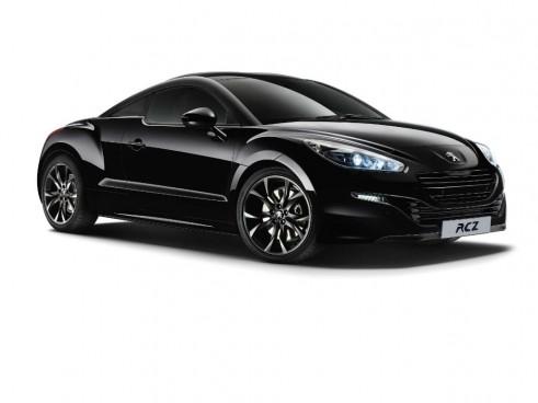 Peugeot RCZ Magnetic Black Front