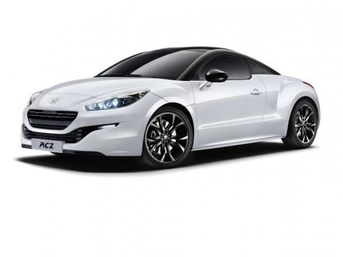 Peugeot RCZ Magnetic White Front