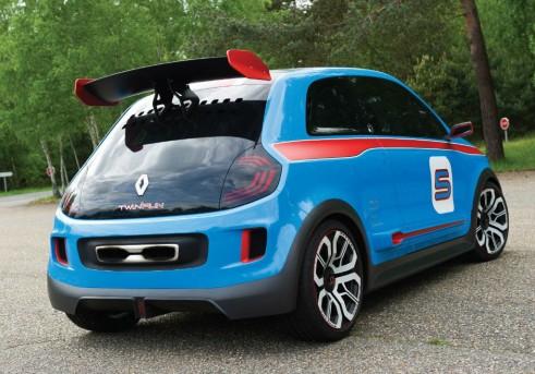 Renault Twin Run Concept Rear