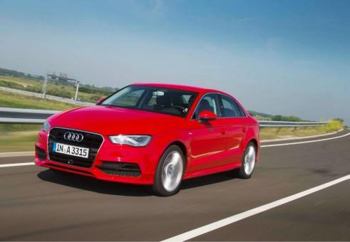 2013 Audi A3 Saloon Front - carwitter.com.jpb