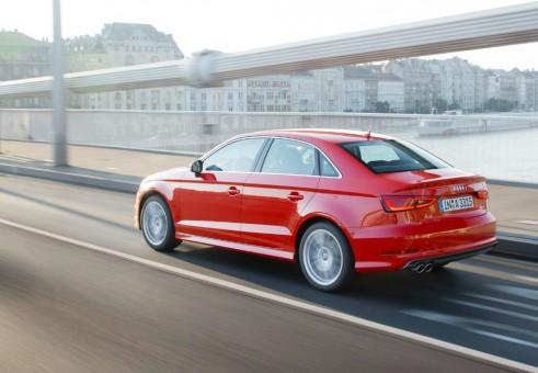 2013 Audi A3 Saloon Rear Angle - carwitter.com