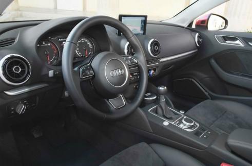 2013 Audi A3 Saloon dash - carwitter.com