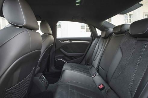 2013 Audi A3 Saloon rear seats - carwitter.com