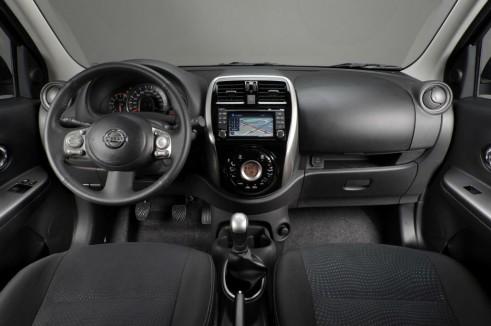 2013 Nissan Micra Facelift Interior - carwitter