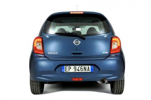 2013 Nissan Micra Facelift Rear - carwitter