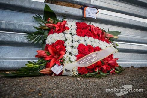 Allan Simonsen Flag Crash Scene Tribute - carwitter