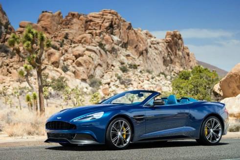 Aston Martin Vanquish Volante Front - carwitter