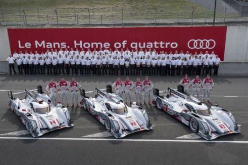 Audi Le Mans 2013 Team - carwitter