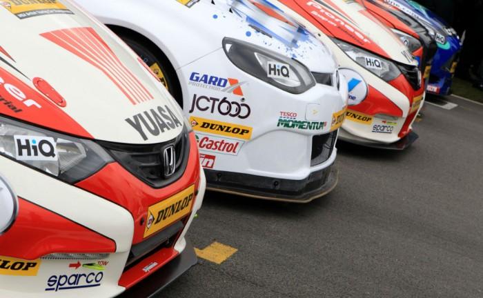 BTCC 2013 Cars lined up carwitter 700x432 - BTCC 2013 - the season so far... - BTCC 2013 - the season so far...