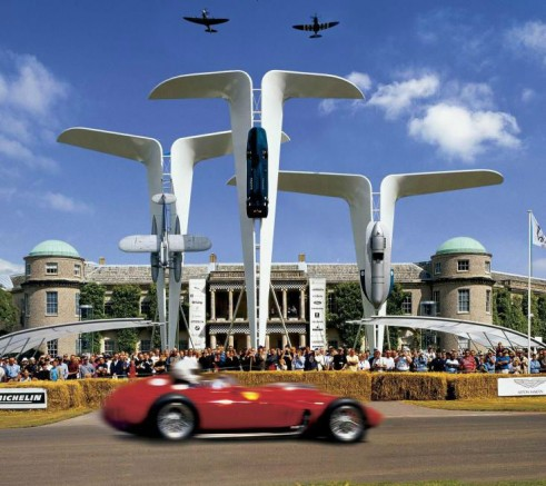 Bluebirds at Goodwood Festival of Speed - FOS 2013 - carwitter