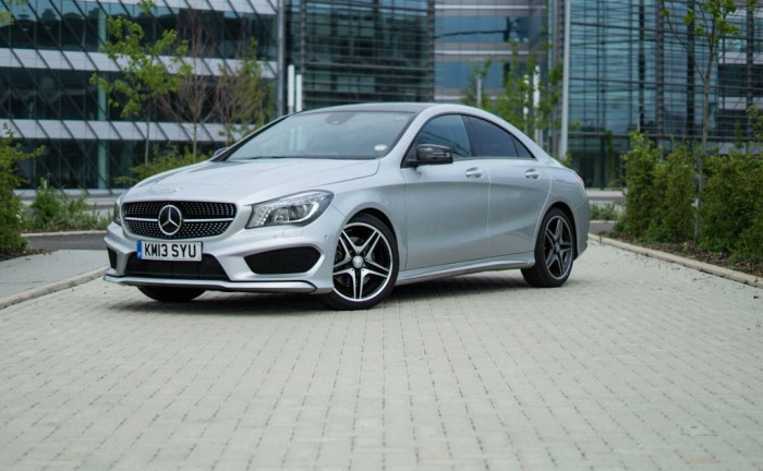 Merceds Benz CLA AMG Sport Front Angle carwitter 700x432 - Mercedes Benz CLA AMG Sport Review – the baby CLS? - Mercedes Benz CLA AMG Sport Review – the baby CLS?