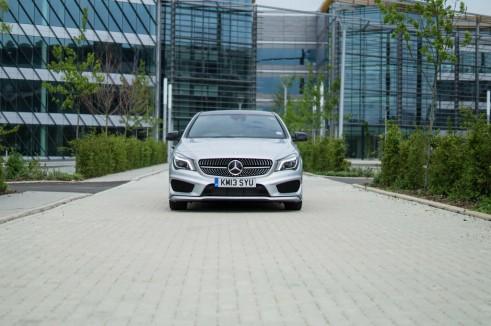 Merceds Benz CLA AMG Sport - Front - carwitter.jpg