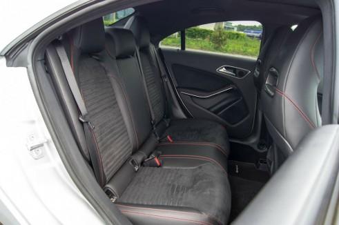 Merceds Benz CLA AMG Sport - Rear Seats - carwitter