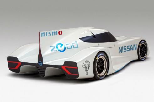 Nissan ZEROD RC Le Mans 2013 Rear carwitter 491x327 - Nissan ZEROD RC 2014 Le Mans car announced - Nissan ZEROD RC 2014 Le Mans car announced