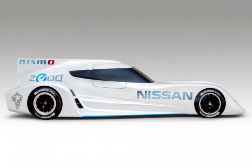 Nissan ZEROD RC Le Mans 2013 Side carwitter 491x327 - Nissan ZEROD RC 2014 Le Mans car announced - Nissan ZEROD RC 2014 Le Mans car announced