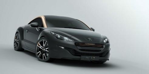 Peugeot RCZ R Black Front - carwitter