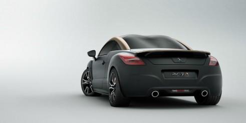 Peugeot RCZ R Black Rear - carwitter