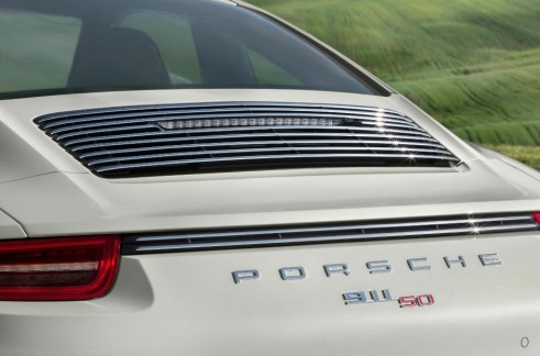 Porsche 911 50 Limited Edition Rear Badge - carwitter