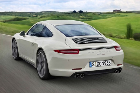 Porsche 911 50 Limited Edition Rear - carwitter