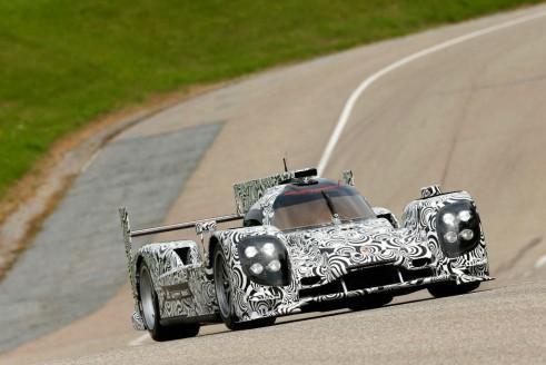 Porsche LMP1 Endurance 2014 Le Mans Car On Track carwitter 491x328 - New Porsche LMP1 prototype - New Porsche LMP1 prototype