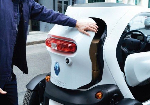 Renault Twizy Cargo Boot - carwitter