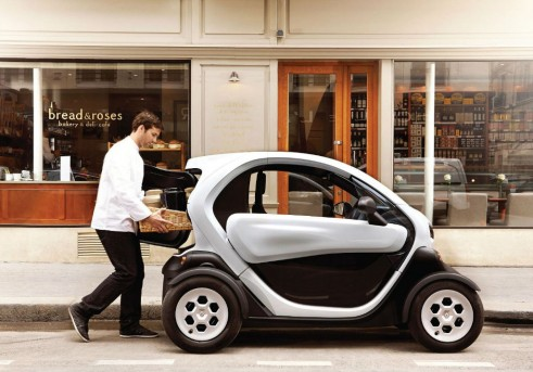 Renault Twizy Cargo Side - carwitter
