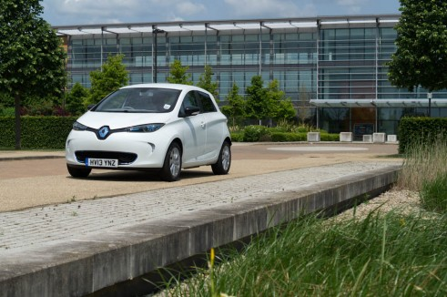 Renault Zoe Front - carwitter