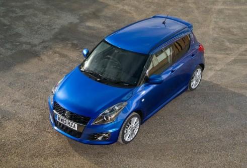 2013 Suzuki Swift Sport 5 Door Front - carwitter