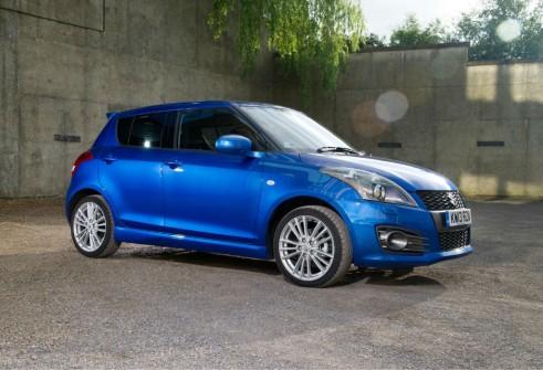 2013 Suzuki Swift Sport 5 Door Side - carwitter