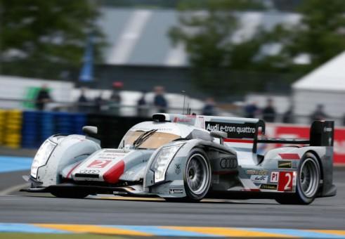 2013 Winning Le Mans Audi R18 e-tron Goodwood 2013 - carwitter