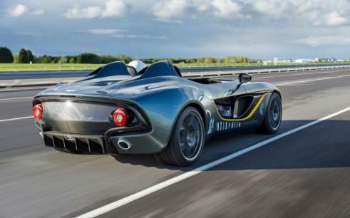 Aston Martin CC100 Speedster Concept Rear Goodwood 2013 - carwitter