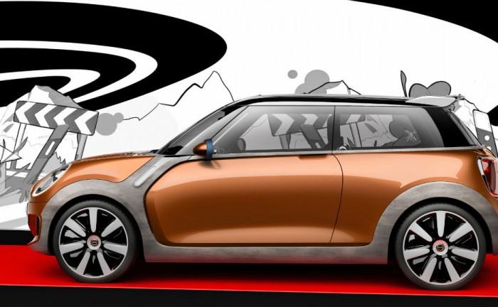 BMW MINI Vision Side carwitter 700x432 - MINI Vision - the future of MINI - MINI Vision - the future of MINI