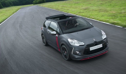 Citroen DS3 Racing Cabrio Concept Front- carwitter