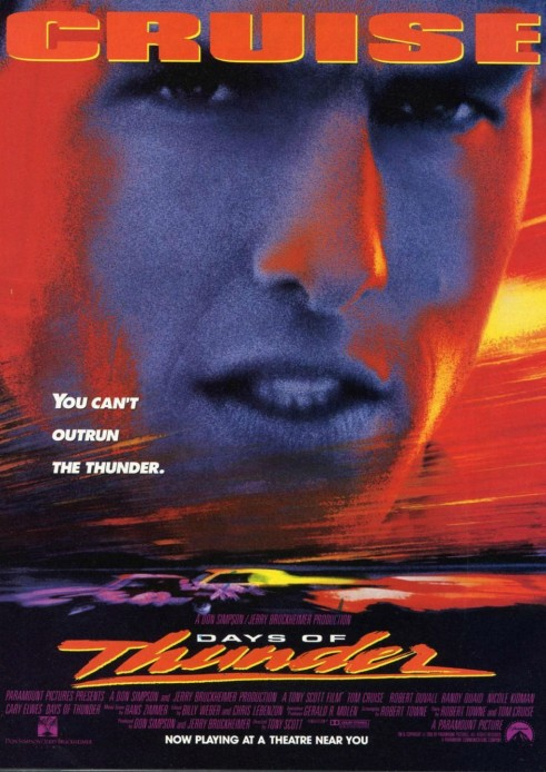 Days Of Thunder DVD Cover - carwitter