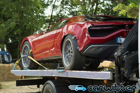 Goodwood FOS 2013 - Giugiaro Parcour Crash 4 - carwitter