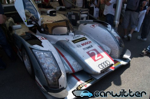 Goodwood FoS 2013 Audi R18 E Tron Quattro Front carwitter 491x326 - Goodwood Festival of Speed 2013 - Review - Goodwood Festival of Speed 2013 - Review