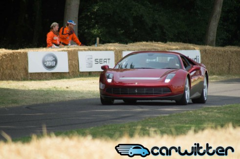 Goodwood FoS 2013 Eric Claptons Ferrari SP12 EC Front carwitter 491x326 - Goodwood Festival of Speed 2013 - Review - Goodwood Festival of Speed 2013 - Review