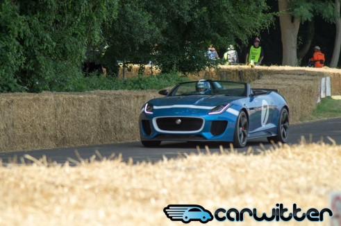 Goodwood FoS 2013 Jaguar Type 7 Design Concept Close Up carwitter 491x326 - Goodwood Festival of Speed 2013 - Review - Goodwood Festival of Speed 2013 - Review