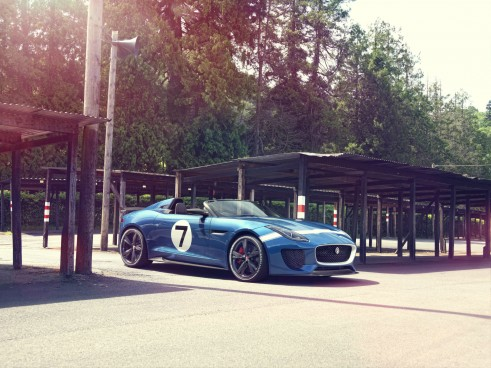 Jaguar Project 7 Goodwood 2013 - carwitter