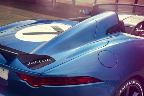 Jaguar Project 7 Rear Goodwood 2013 - carwitter
