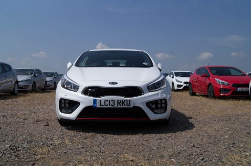 Kia Pro Ceed GT White Front In The Flesh