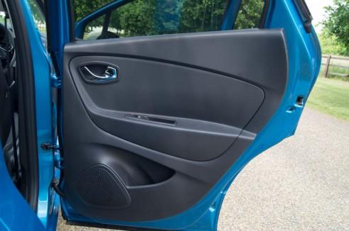 Renault Captur Review Rear Door Card - carwitter